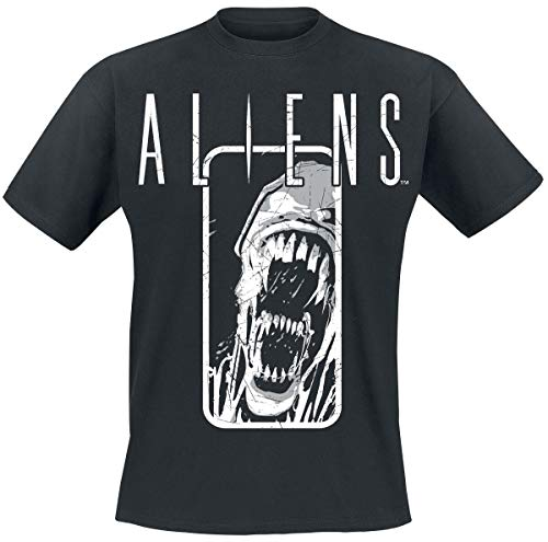 Alien Aliens - Distressed T-Shirt Noir M