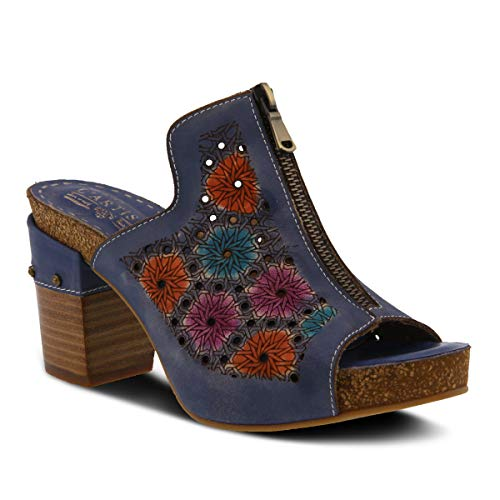 L'ARTISTE by Spring Step ZIPPIA Blue Shoe US 6.5-7