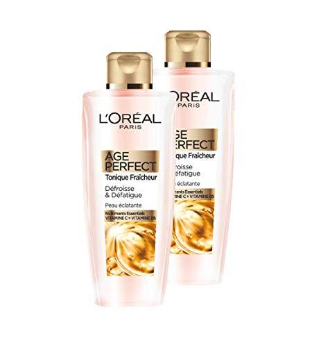 L'Oréal Paris - Age Perfect - Lotion Tonique - Peaux Matures - 200 ml - Lot de 2