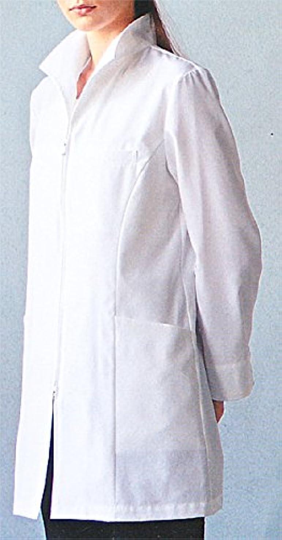 キウイガソリン覆すカゼン 128-90 レディスハーフコート (看護師 ドクター 介護)