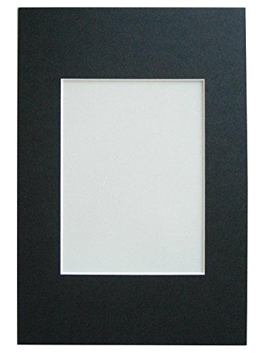 Walther Design PA071B, marcos de fotos Paspartú, formato passepartout 50 x 70 cm, formato de imagen 40 x 60 cm, negro