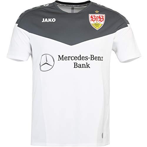 JAKO VfB Stuttgart Champ 2.0 Trikot (M, White/Grey)