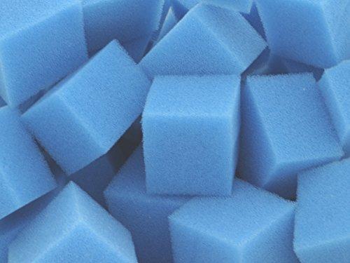 Biowürfel Filterwürfel PPI 45 fein ca. 200 Liter Schüttware (lose im Karton verpackt) für Teichfilter Aquarien Koi Filter Bio