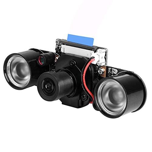 Queen.Y Module de Caméra 5MP Caméra Focale Réglable avec Coupe IR Intégrée pour Raspberry Pi 2/4 / 3B +