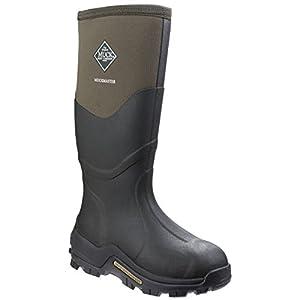 Muck Boots - Botas de Agua Muckmaster Hi para Adultos Unisex (38 EU) (Musgo/Musgo)