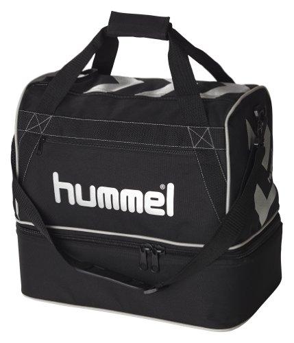 Hummel Stay Authentic Soccer Tasche L, 15 kg, schwarz/silber, 40-915-2250