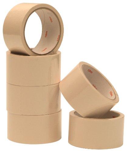 Anti-Rissband weiß 50mmx10m 6 Rollen Anti Rißband Abdichtklebeband Faservlies mit Hotmeltkleber