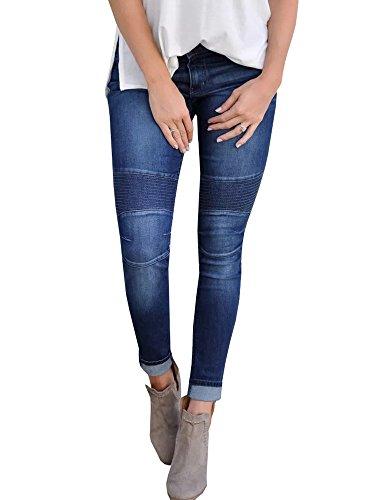 Fueri Dames Skinny Jeans Bootleg Broek Meisjes Jeans Denim Bootcut High/Mid Rise Jeggings Dames Stijlvol