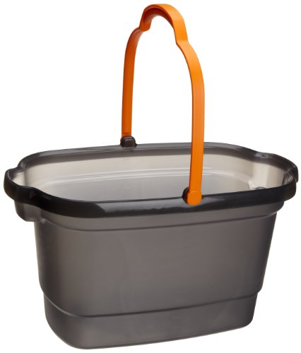 Casabella, 4-Gallon Bucket Graphite and Orange