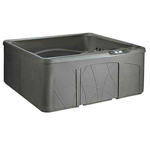 LifeSmart LS350DX 5 Person Outdoor Patio Hot Tub Spa w/ 28 Jets