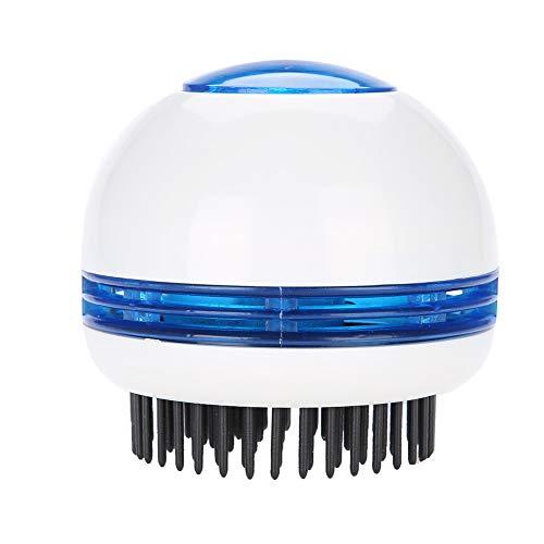 Masseur de tête à main électrique pour soulagement du stress de la relaxation du cuir chevelu antistatique, peigne à cheveux portable pour le soulagem