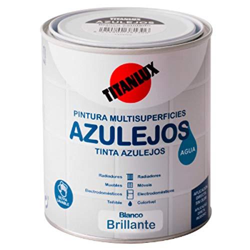 Wasserlack, glänzend, für Fliesen, 750 ml