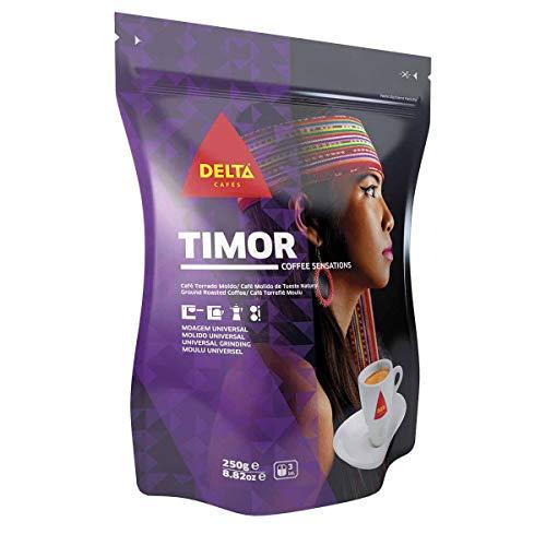 Delta - Timor - Café Molido de Tueste Natural 250 Gr