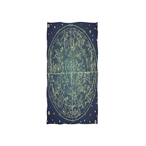 Rode 30x15 inch zachte ster beeld Space Star zacht van Hotel Spa Gym Sport handdoek washandjes washandjes