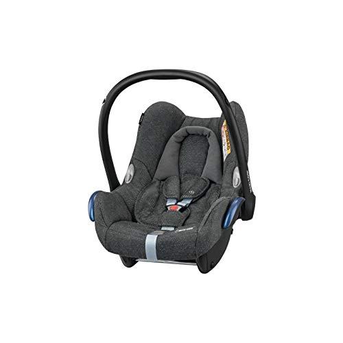 Maxi-Cosi CabrioFix Babyschale, Baby-Autositze Gruppe 0+ (0-13 kg), nutzbar bis ca. 12 Monate, passend für FamilyFix-Isofix Basisstation, Sparkling Grey (grau)