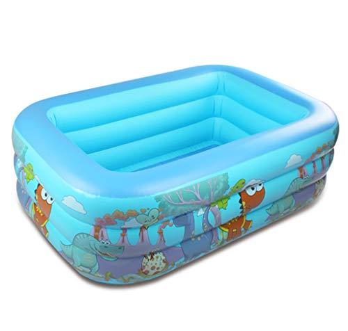 YZY Piscina Inflable, 150 * 105 Cm Piscina Familiar Piscinas Infantiles para Jardines Patio Trasero Familiar Centro De Juegos Acuáticos De Verano