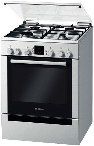 Bosch HGV745250 Gas-Kombistandherd / A / edelstahl
