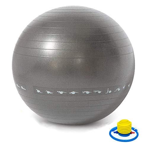 Palla da Ginnastica Palla Fitness 75cm Balance Ball sede PALLA PILATES YOGA BALL CON scanalata