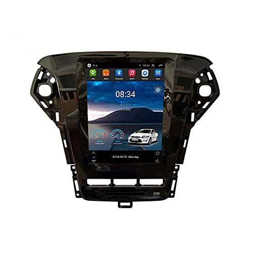 ADMLZQQ Autoradio Bluetooth para Ford Mondeo mk4 2007-2013 2 DIN Android 11 Radio De Coche 9.7'' Pantalla Táctil 5G WiFi Plug and Play Soporte Carautoplay/Dab+/OBDII,2011~2013,TS6