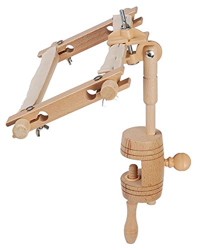 Elbesee Versatile Table Clamp Embroidery & Tapestry Stand for Hoop or Frame by Elbesee