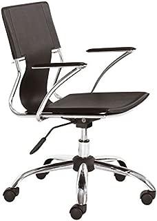 Zuo Trafico Office Chair, Espresso