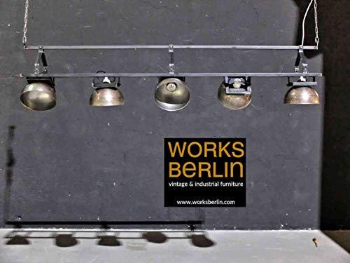 Modulare industrielle Hängelampe - Industrielampe, Fabriklampe - Manufaktur worksberlin