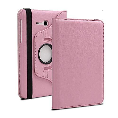 360 degrees rotation case for samsung galaxy tab 3 lite 7 0 cover for samsung tab sm-t110 sm-t111 sm-t113 sm-t116 tablet case-pink