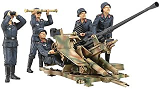 タミヤ 1/35 ミリタリーミニチュアシリーズ No.302 ドイツ陸軍 3.7cm 対空機関砲 37型 クルーセット プラモデル 35302