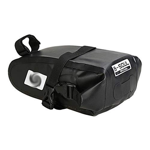 Huiyue Sostenedor del teléfono móvil de los hombres de asiento posterior de la bicicleta de la bicicleta a prueba de agua bolsa posterior de la bicicleta trasera de una silla bolso de las mujeres bols