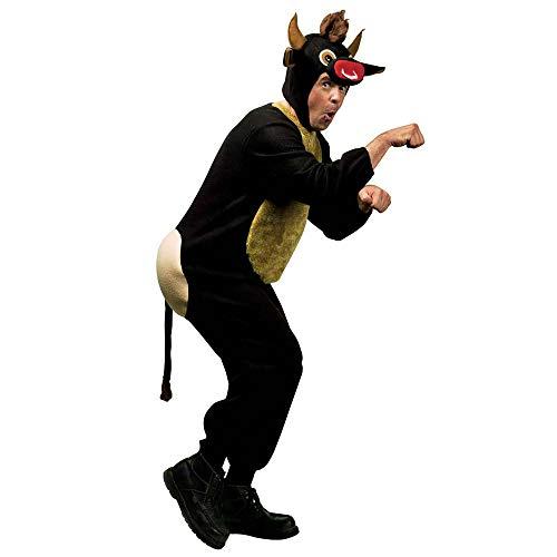 WIDMANN Toro Costume Con Sedere Copricapo Con Maschera Costumi Completo Adulto 205