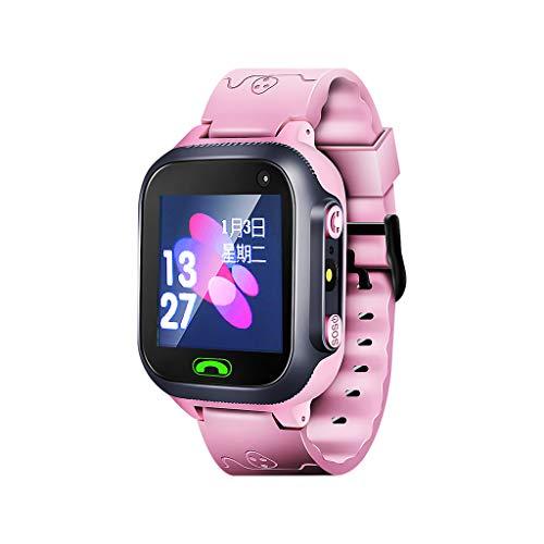 Hffan Kinder Smartwatch - Touchscreen Mobile Smartwatches für Mädchen Jungen, Smart Watch Phone mit Musik-Player,SIM-Karte Smartwatch mit Kamera, Spiel für Kinder Geschenk(1GB SD Card Included)
