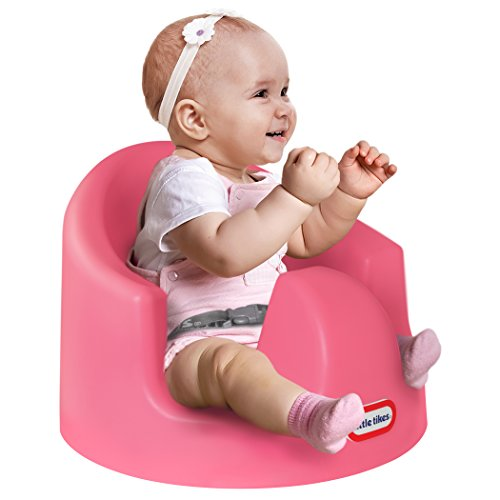 Little Tikes My First Seat Baby Infant Foam Floor Seat Sitting Support, Pink