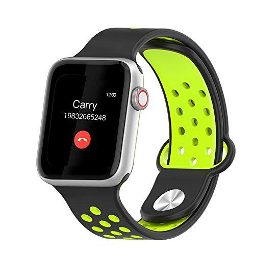 MOLINB Slim horloge Smart Watch Heren Dames Volledig touchscreen Hartslag Stappenteller Bericht Oproepherinnering Telefoon Kijk voor Apple Android-telefoon