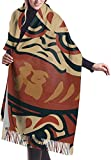 Tengyuntong Bufanda de mantón Mujer Chales para, Learn Japanese...