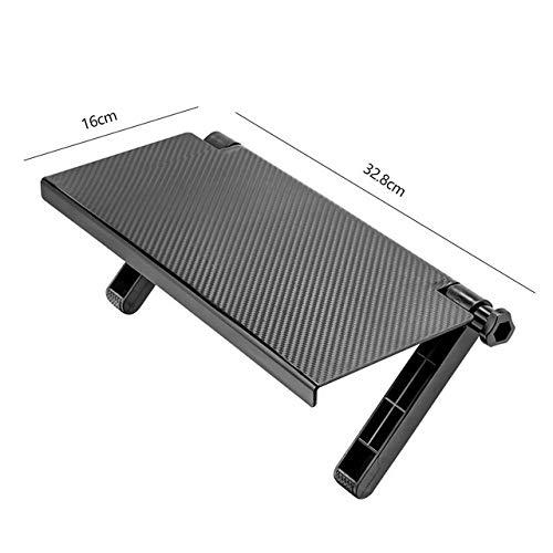 Tivivose Equipo portátil mesa de ordenador for la cama de aleación de aluminio plegable del escritorio del ordenador for el for ipad for Escritorio perezoso tabla del cuaderno del soporte for TV alfom