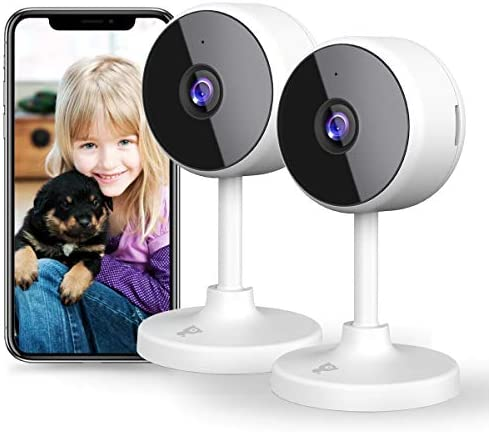 New 2021 WiFi Camera Littlelf Security Camera 1080P Indoor Camera Baby Monitor with 2 Way Audio product image