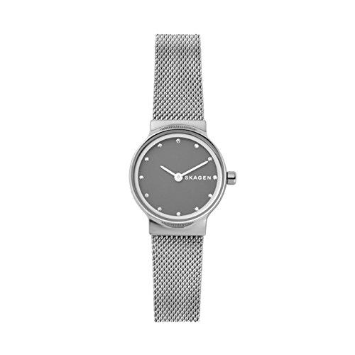 Skagen Damen Analog Quarz Uhr mit Edelstahl Armband SKW2667
