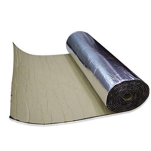 shinehome Car Sound Deadener Deadening Insulation & Noise Control Noise Insulation Heat Dampening Mat 6mm/236mil 40