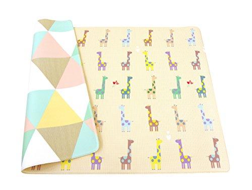 esterilla de juegos para niños - BABY CARE playmat - Giraffe in Love - Medium - 1,85m x 1,25m x 12mm