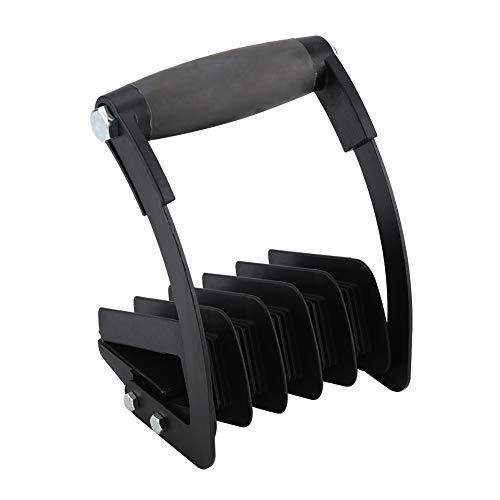 Portador de madera contrachapada, herramienta de transporte de paneles de yeso Abrazaderas manuales para paneles de yeso Herramientas con una sola mano para madera/vidrio/tablero de yeso