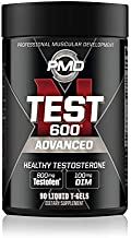 PMD Sports N-Test 600 Advanced Strong and Powerful Testosterone Booster with Testofen - Training and Bodybuilding - Lean Muscle Growth and Strength Gains - 90 Liquid T-Gels …