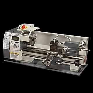TECHTONGDA Brushless Motor Precision Mini Metal Lathe DIY Bench Lathe 110V