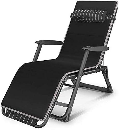 HXPK Büro Klappstuhl Mittagspause Siesta Bett Multifunktionslehne Faule Couch Tragbare Stuhl Strand Stuhl