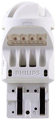 Philips 12835REDB2 Intense Red Vision LED Stop/Tail light, 2 Pack