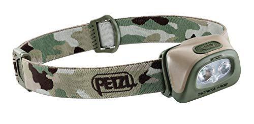 PETZL E089FA01 Lampe Frontale Tactikka +RGB, Camouflage, Unique