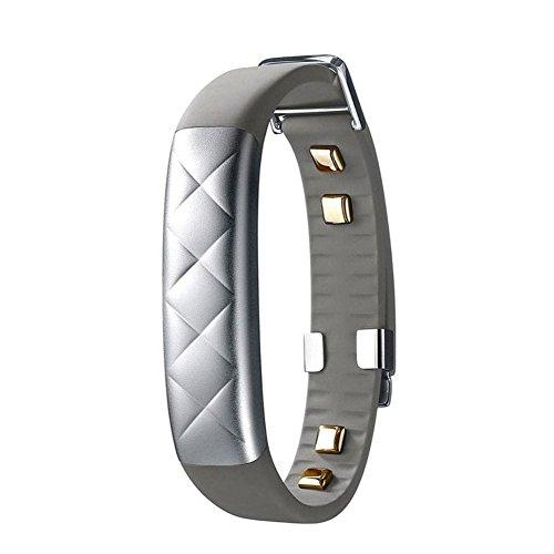 UP2 Jawbone Wireless Activity and Sleep Tracker - JL03 - Light Grey Hex Classic Flat Strap