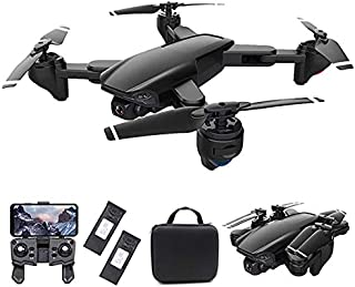 piberagi Drone with Camera FPV RC Quadcopters Drones with Camera for Adults 2.4GHz Remote/Phone/APP Controlled HD Camera V...