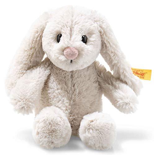 Steiff 80852 Soft Cuddly Friends Hoppie Hase, hellgrau