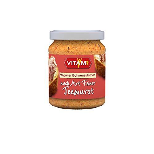 Veganer Bohnenaufstrich nach Art Feine Teewurs (120 g)