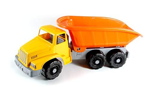BLUE SKY BLUESKY – Boite Camion Benne Géant – Multicolore – 046090 – 75 cm – Jeu de Plage pour Enfant dès 18 Mois, 107137864